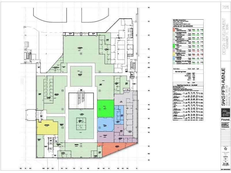 Area plan Second Floor
