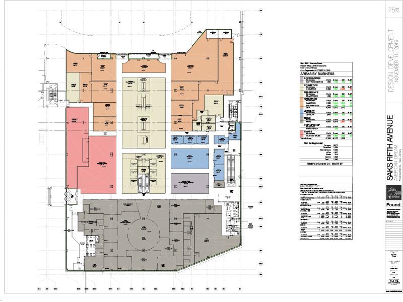 Area plan First Floor