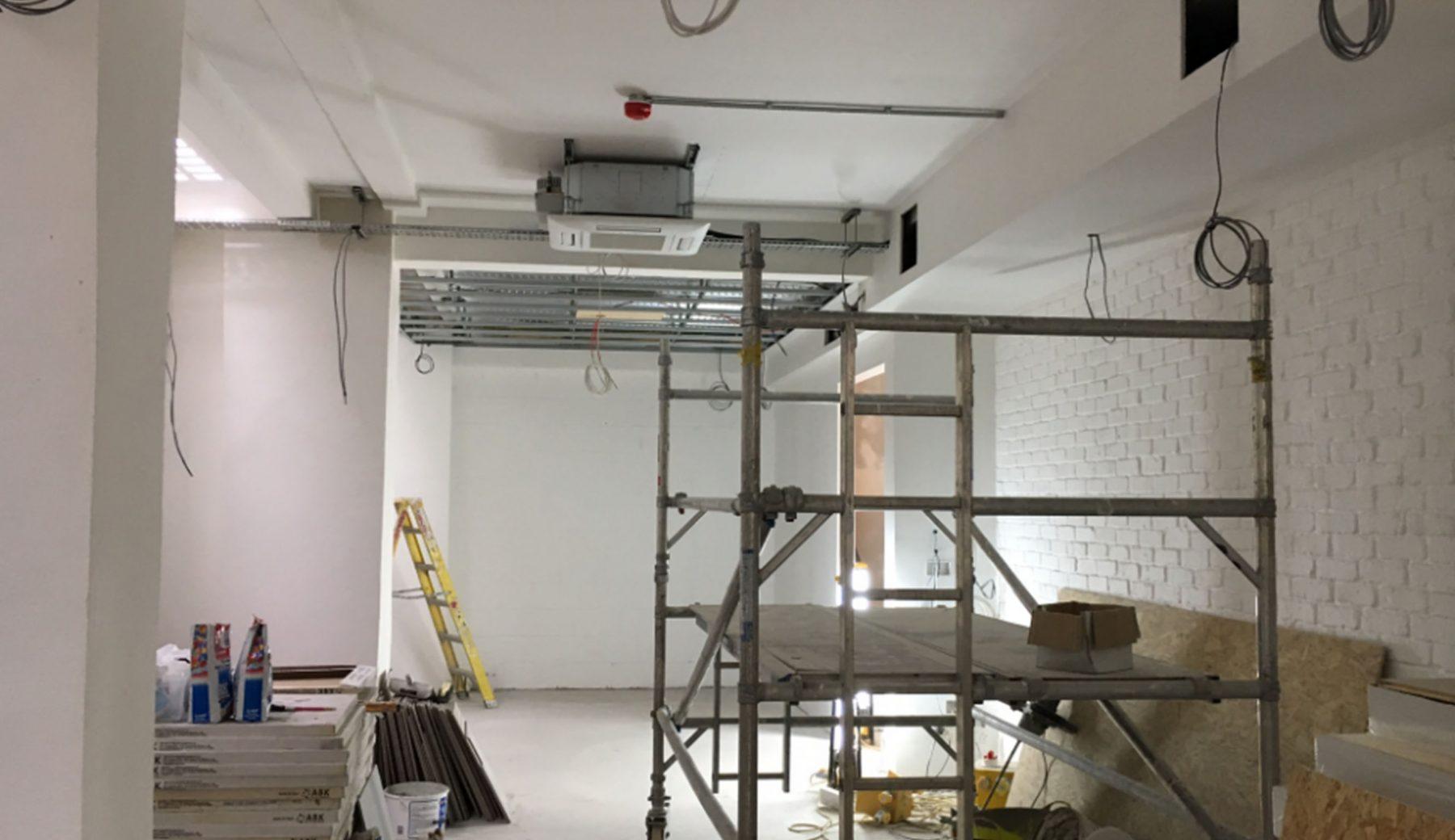 Studio - Construction phase