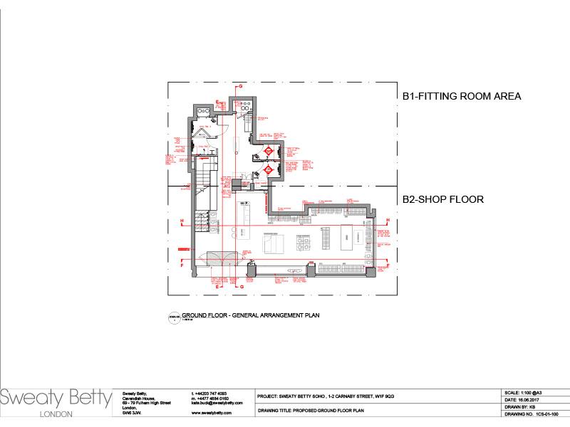 Shop Floor Layout - Ground Floor